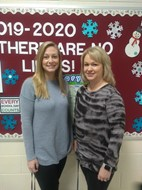 2019- 2020 Teachers of the Year: Samantha Childers and Terri Henson
