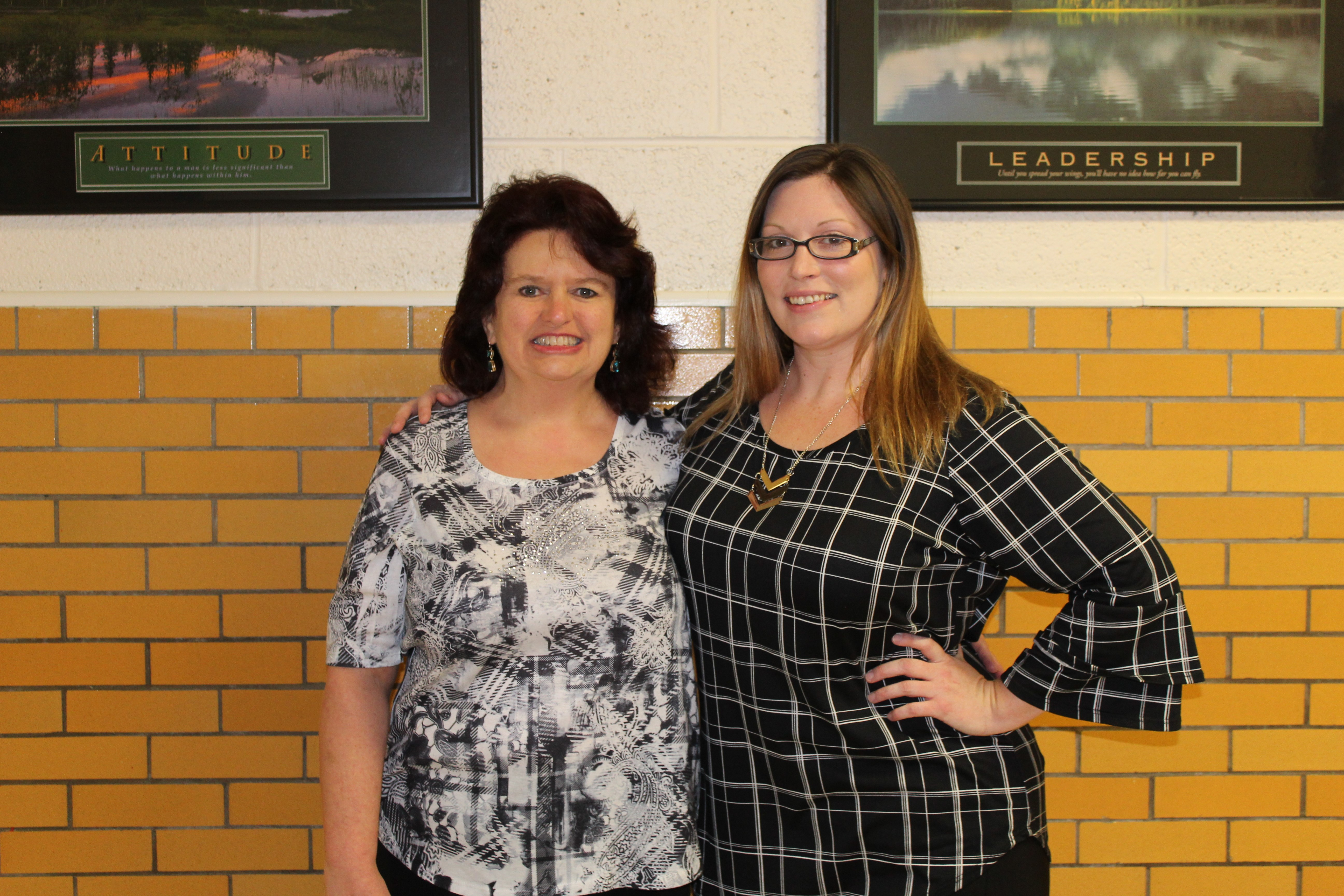 Congratulations to Mountain City Elementary's 2018-2019 Teachers of the year: Paula Stewart and Faye Baker